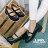 格子舖*【KBCD-018】MIT台灣製 學院風透氣亮皮 3cm粗低跟 一字瑪利珍款學生皮鞋 休閒皮鞋 黑色 0