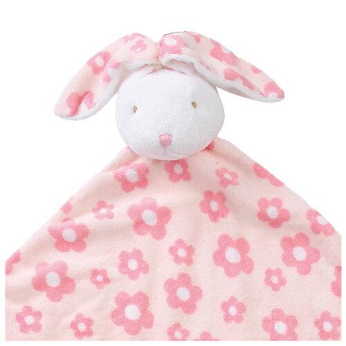 『121婦嬰用品館』美國Angel Dear 大頭動物嬰兒毛毯 花小兔AD2067(此商品售出不做退換) 1