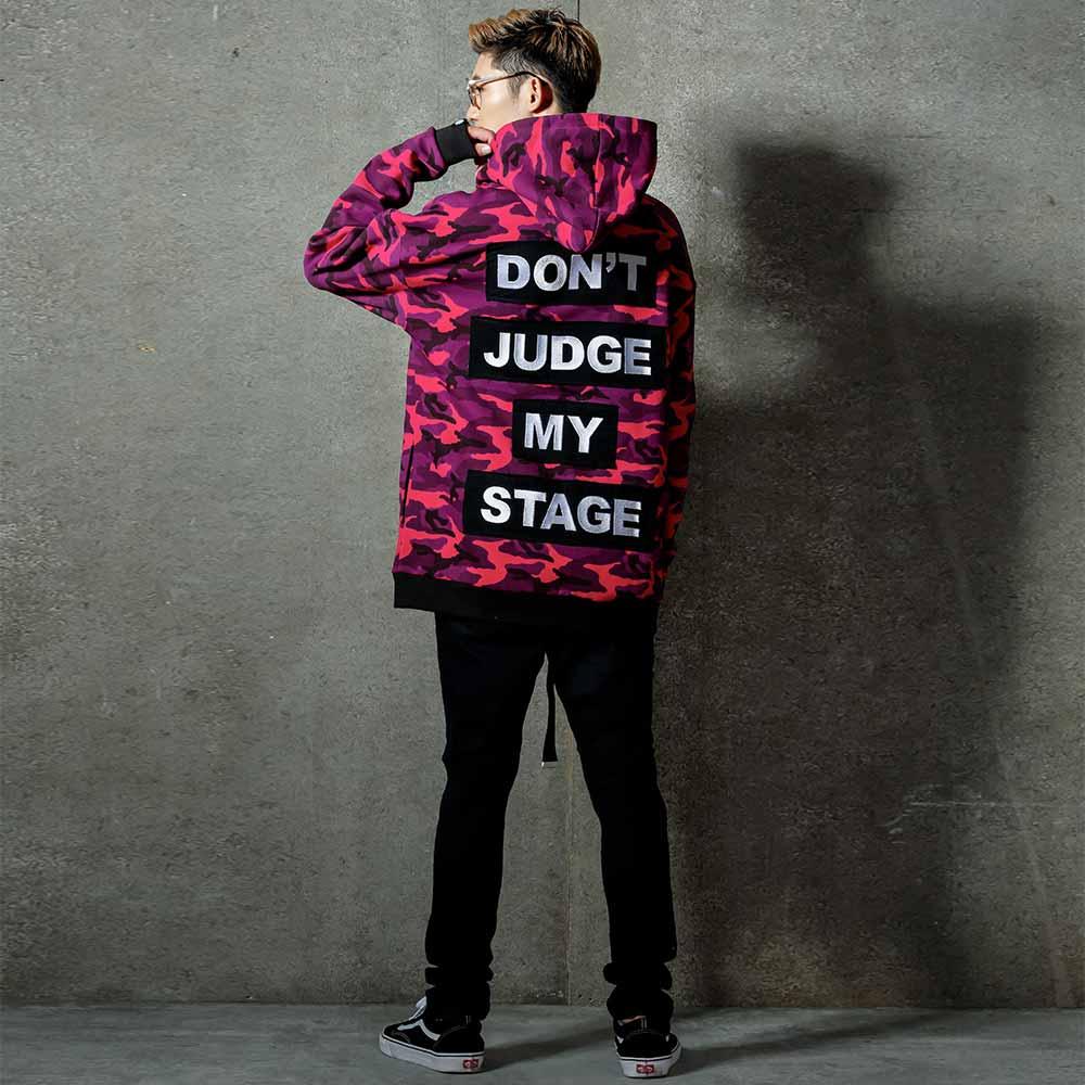 STAGE DJMS CAMO HOODIE 黑灰迷彩 / 紫紅迷彩 兩色 0