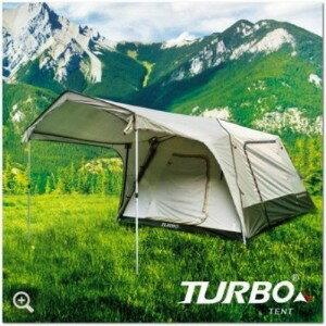 【露營趣】中和 贈led燈條 Turbo Tent Turbo Lite 270 4~6人帳篷 快搭帳篷 炊事帳 客廳帳 非威力屋