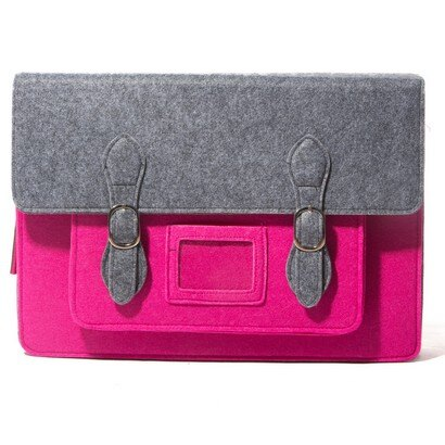 Urban Country Large Satchel Tablet Bag (cerise) 0