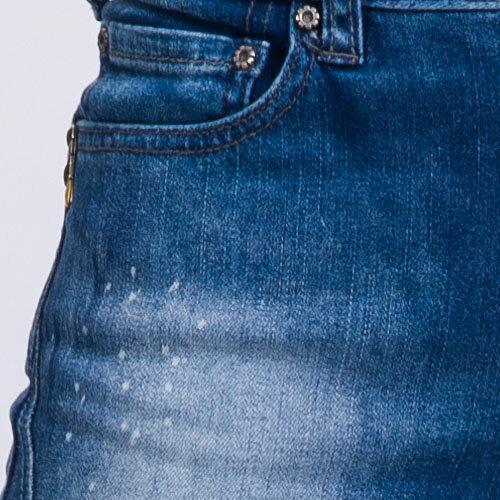 【ET BOîTE 箱子】輕磅輕旅丹寧褲(深藍) 1