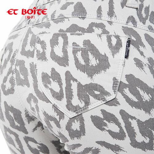 【ET BOiTE 箱子】輕薄彈力窄直色褲 1