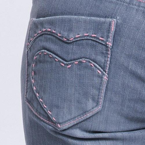 【ET BOiTE 箱子】Amour心型直筒褲 1
