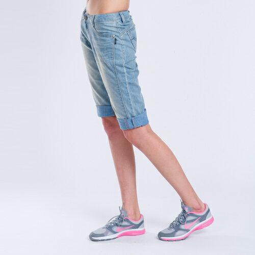 【ET BOîTE】 箱子 美腿六分牛仔褲 1