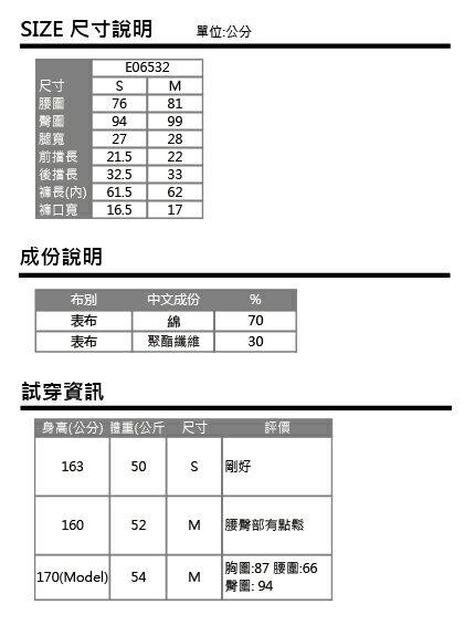ET BOiTE 箱子  6分反摺工作褲 - 【單筆滿888結帳輸入 SS_20161209→再折100元】 2