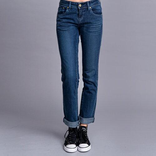 【ET BOîTE 箱子】Aura高腰直筒褲 0