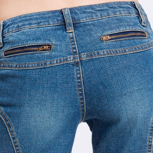 【ET BOîTE 箱子】 五分牛仔短褲 1
