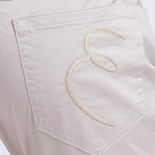 【ET BOîTE  箱子】 斜邊七分窄管褲 1