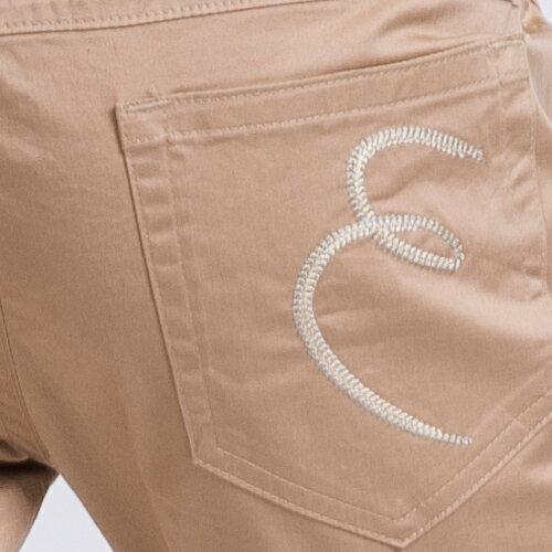 【ET BOîTE 箱子】斜邊七分窄管褲 1