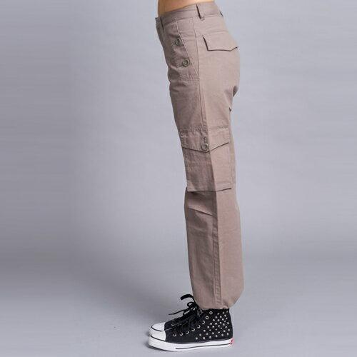【ET BOîTE 箱子】斜口袋休閒工作褲 0