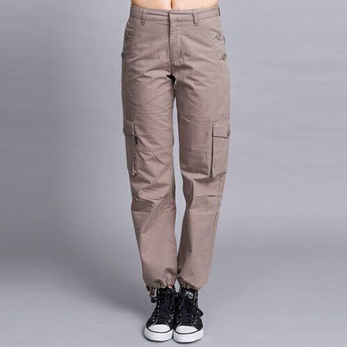 【ET BOîTE 箱子】斜口袋休閒工作褲 1