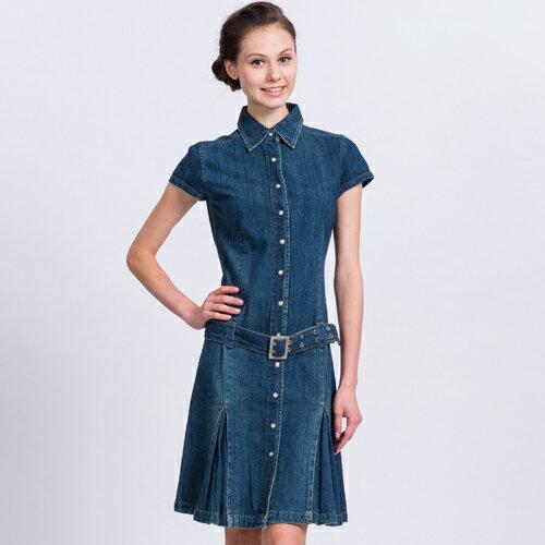 ET BOîTE 箱子 襯衫式連身洋裝 0