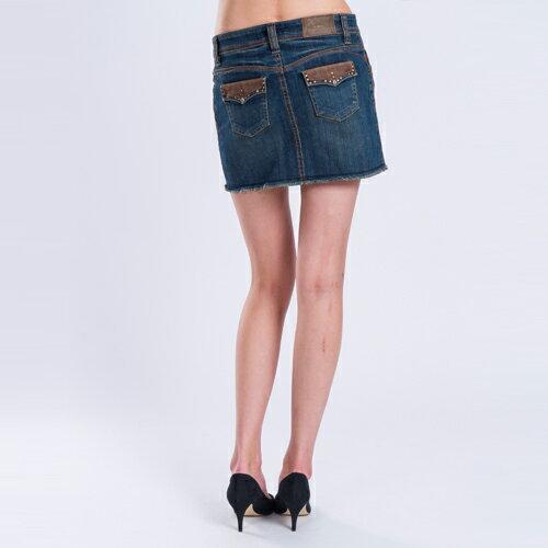【ET BOiTE 箱子】 嬉皮伸縮短裙 1