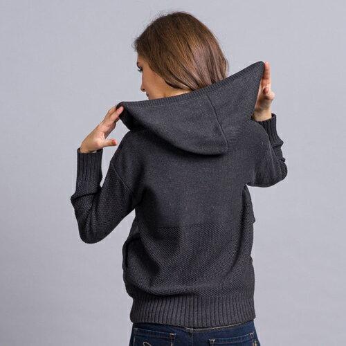 【ET BOîTE 箱子】連帽口袋針織上衣(S-M) 現貨 1