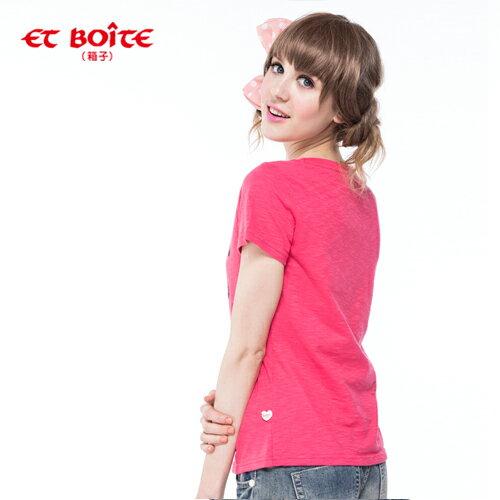 【ET BOiTE 箱子】ET AMOUR ALICE娃娃T恤 1