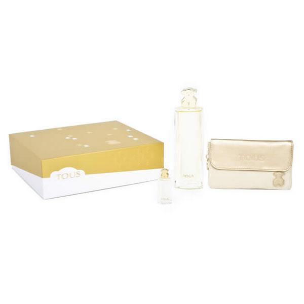 Tous Estuche Eau de Parfum 90 ml + Eau de Parfum 4.5 ml + Cartera Tous 0