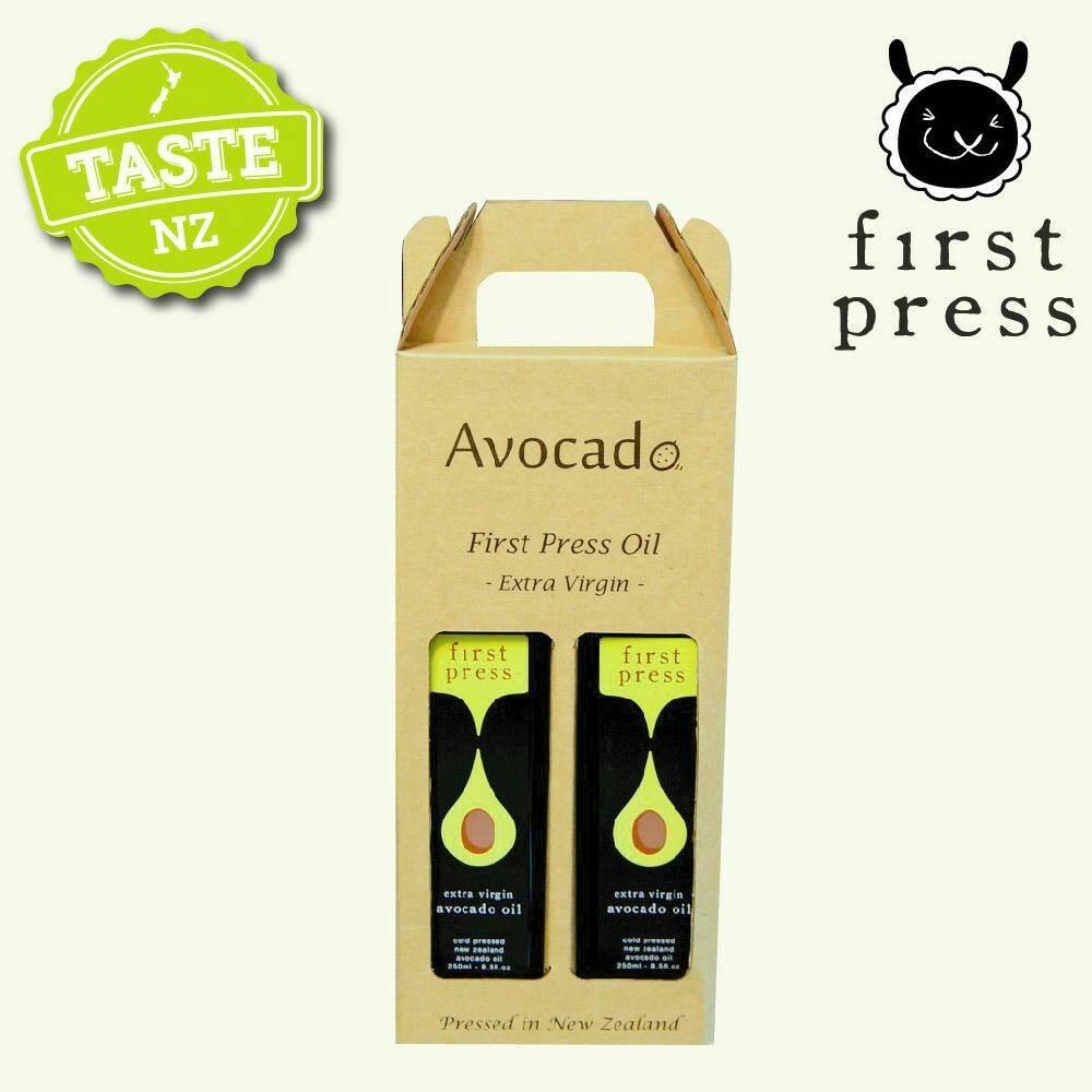 【壽滿趣- 紐西蘭原裝進口】First Press頂級冷壓初榨酪梨油(250ml 兩瓶禮盒裝) 0