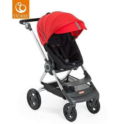 挪威【Stokke】 Scoot 推車專用套件組(賽車風格)-紅色 0