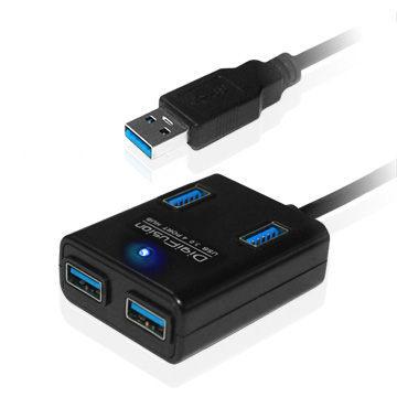 {光華新天地創意電子}伽利略 DigiFusion U3H04E USB 3.0 4 PORT HUB  喔!看呢來