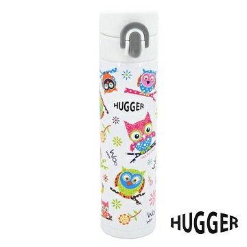 英國【Hugger】不鏽鋼保溫/冷水壺 - 咕咕貓頭鷹 0