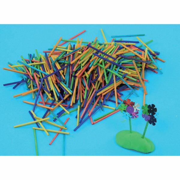 【華森葳兒童教玩具】美育教具系列-彩色火柴棒 L1-AP/408/CM (華森葳系列消費1500元加贈赫利手動炫光風扇)