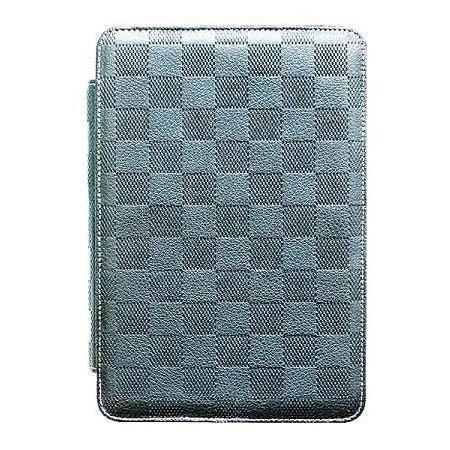 *╯新風尚潮流╭*JETART 捷藝 iPad mini 2 時尚精品保護套 時尚複合方格紋 多用途卡片收納 SAE030