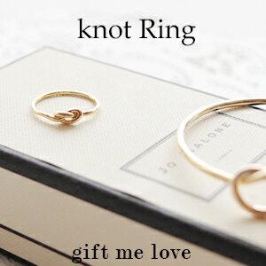歐美kate Spade風 蝴蝶結 簡約打結 戒指EC22【Gift Me Love 愛禮】正韓國製