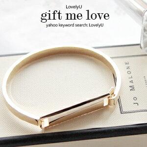 歐美kate Spade風 簡約金色吊牌 高質感雙面手環EE50【愛禮】正韓國製