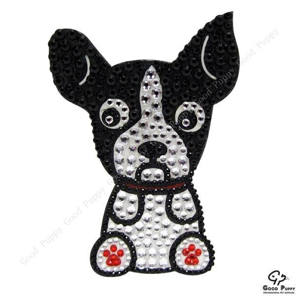 加拿大進口狗狗寵物水鑽貼紙-波士頓92973 Boston Terrier* 手機/平板/電腦/iPad/iPhone/小禮物/贈品