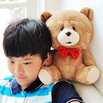 美麗大街【104062517】18吋熊麻吉造型玩偶 抱枕 娃娃