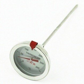 【珍昕】三箭牌 300度c掛勾式油炸溫度計~(探針15cm)