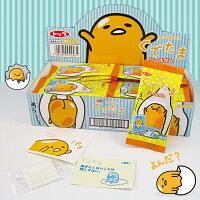 有樂町進口食品 日本蛋黃哥 口香糖&貼紙 組合 一盒40包600元 4901919002481