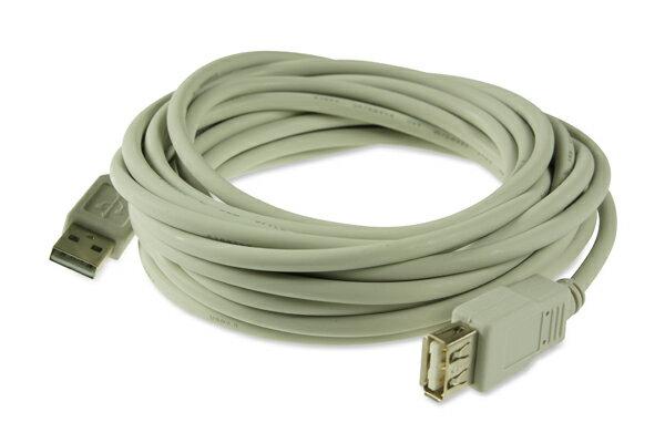 AviewS-USB2.0線材/2.0版/雙A Type/公對母頭 2