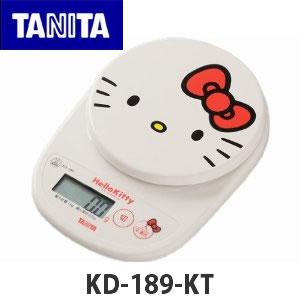 ★菲比朵朵 ★HELLO KITTY TANITA KD-189KT 電子磅秤機 數位電子秤 烘焙料理 最大1KG (OD1135)