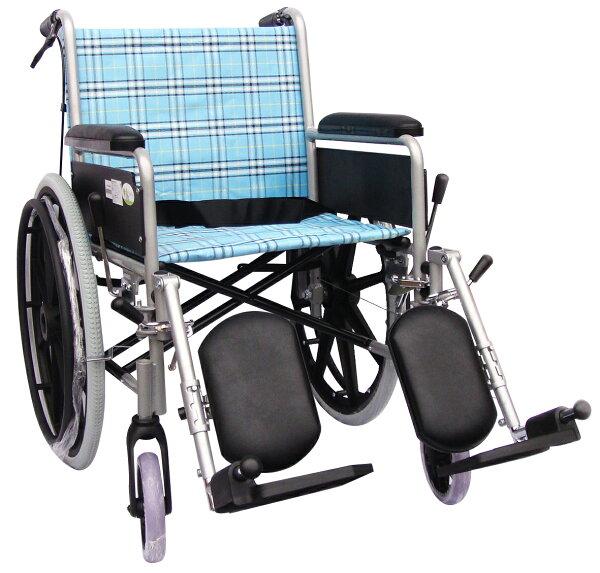 【醫康生活家】杏華 鋁製骨科輪椅 固手拆腳 FK-BB3