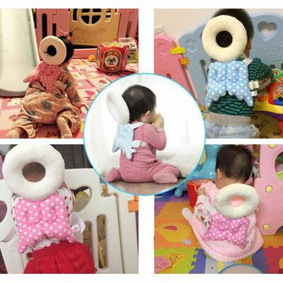 嬰兒頭部護枕 頭部保護墊防撞防摔天使翅膀