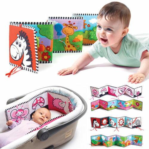 嬰兒床圍布書 鍋牛動物床圍布書