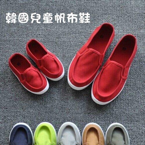 童鞋 韓版兒童帆布鞋