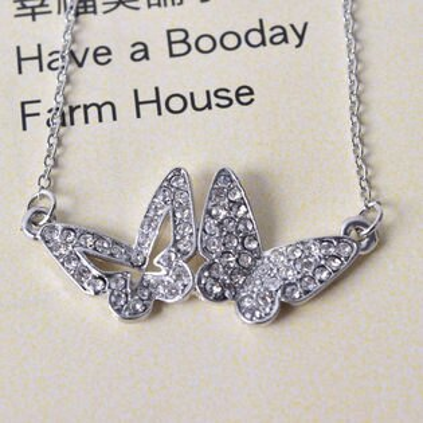 Q21 夏天水鑽小短鏈讓妳漂亮一夏天 個性鑲鑽氣質小項鏈 ? 平價飾品,讓氣質加分