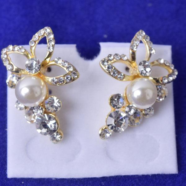 R95 傑克鑽 耳環 簡單時尚 璀璨 鑲 鑽 大方 簡約 耳環 一對 50元 超便宜