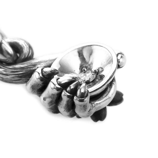 【現貨商品】【Bloody Mary】仙猿握杯鑽石墜飾 純銀款 (BMP1374-D  0838180000) 3