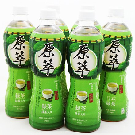 【敵富朗超巿】原萃日式綠茶(575mlX6入) - 限時優惠好康折扣