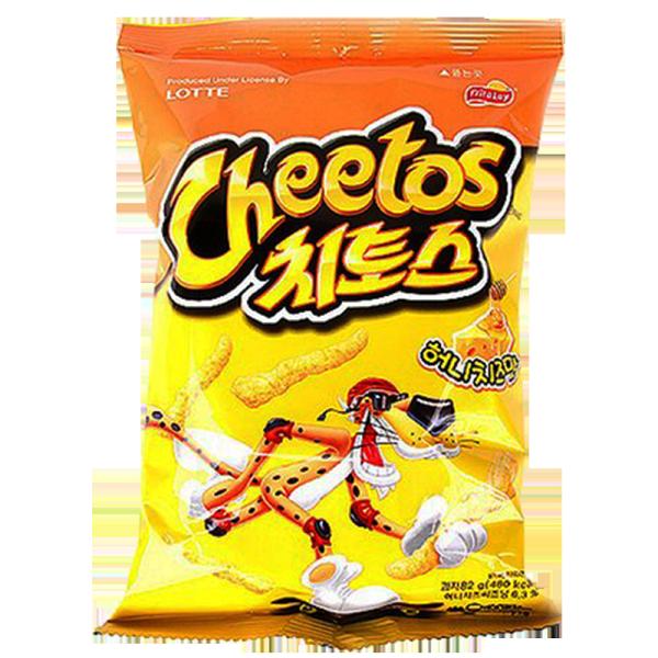 韓國進口 Cheetos 奇多玉米棒-蜂蜜起士口味82g