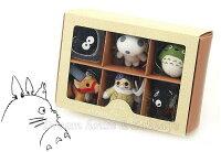 宮崎駿龍貓周邊商品推薦日本宮崎駿 龍貓 Totoro 紅豬 魔女宅急便 玩具/公仔吊飾組合 《 6款禮盒裝 》★ Zakka'fe ★