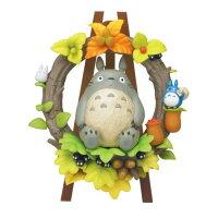 宮崎駿龍貓周邊商品推薦日本宮崎駿 龍貓 Totoro 立體拼圖組合玩具/公仔 《 花圈 》★ Zakka'fe ★