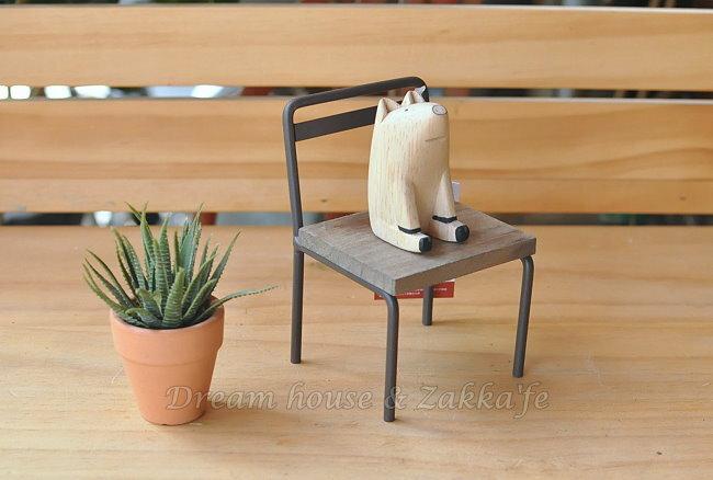 Zakka 南法鄉村風 仿舊復古 小椅子 花架 盆栽架~ 可當展示座 ~~很漂亮喔~ Za