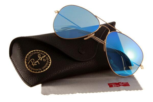 Ray Ban 雷朋 水銀鍍膜金邊藍鏡 太陽眼鏡 RB3025 0