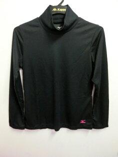 【登瑞體育】MIZUNO女生長袖高領發熱T恤-32JA485109