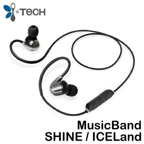 i-Tech MusicBand SHINE / ICELand 立體聲掛頸式藍牙耳機 ◆防汗納米塗層技術
